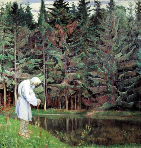 Michail Nesterov, Servo di Dio, 1914.