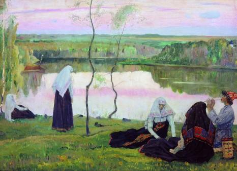 Michail Nesterov, Oltre il Volga, 1922.