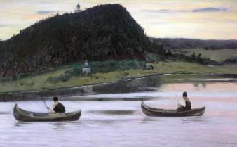 Michail Nesterov, Silenzio, 1903.