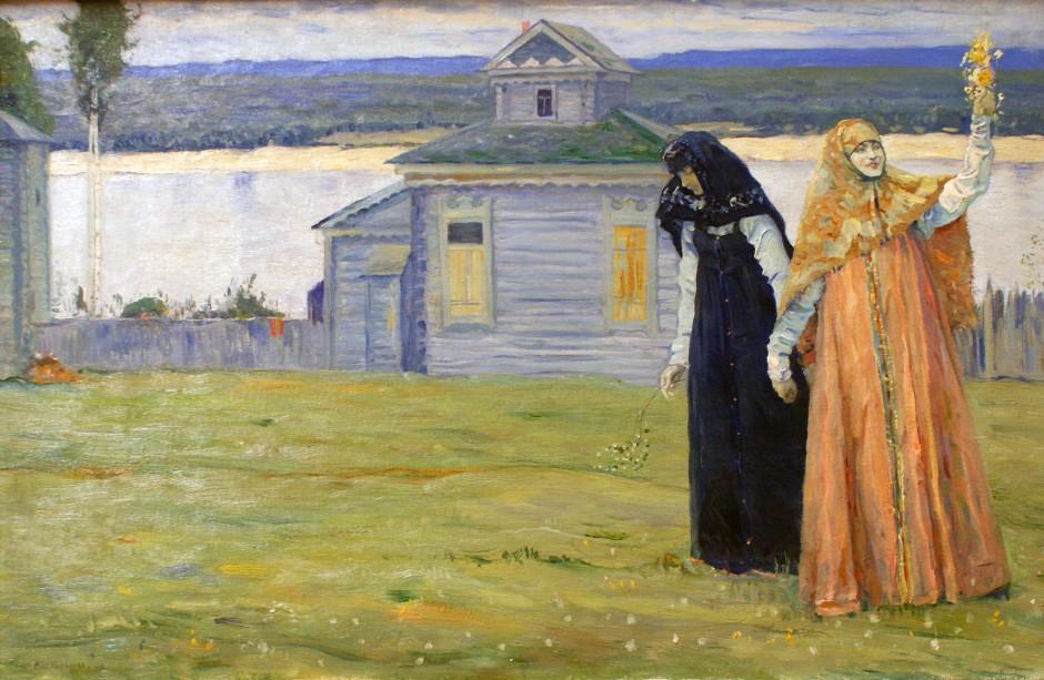 Mikhail_Nesterov_sorelle-1915