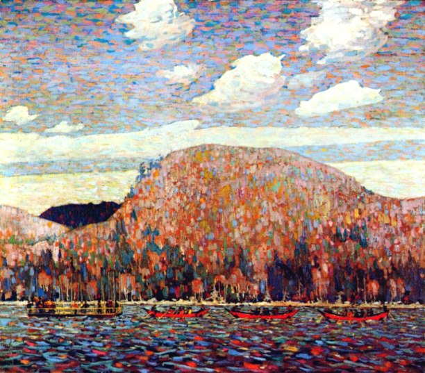 Tom Thomson, the pointers.