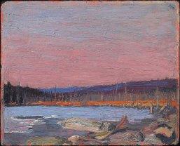 Tom Thomson, a northern lake.