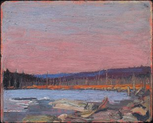 Tom Thomson, a northern lake.