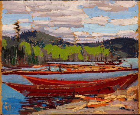 Tom Thomson, Bateaux.