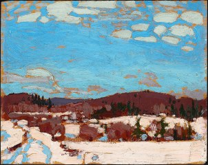Tom Thomson, Early spring.