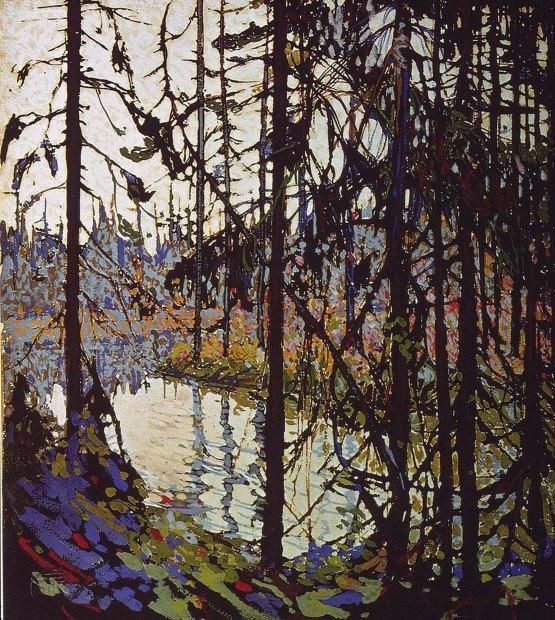 Tom Thomson, Northern River (schizzo).