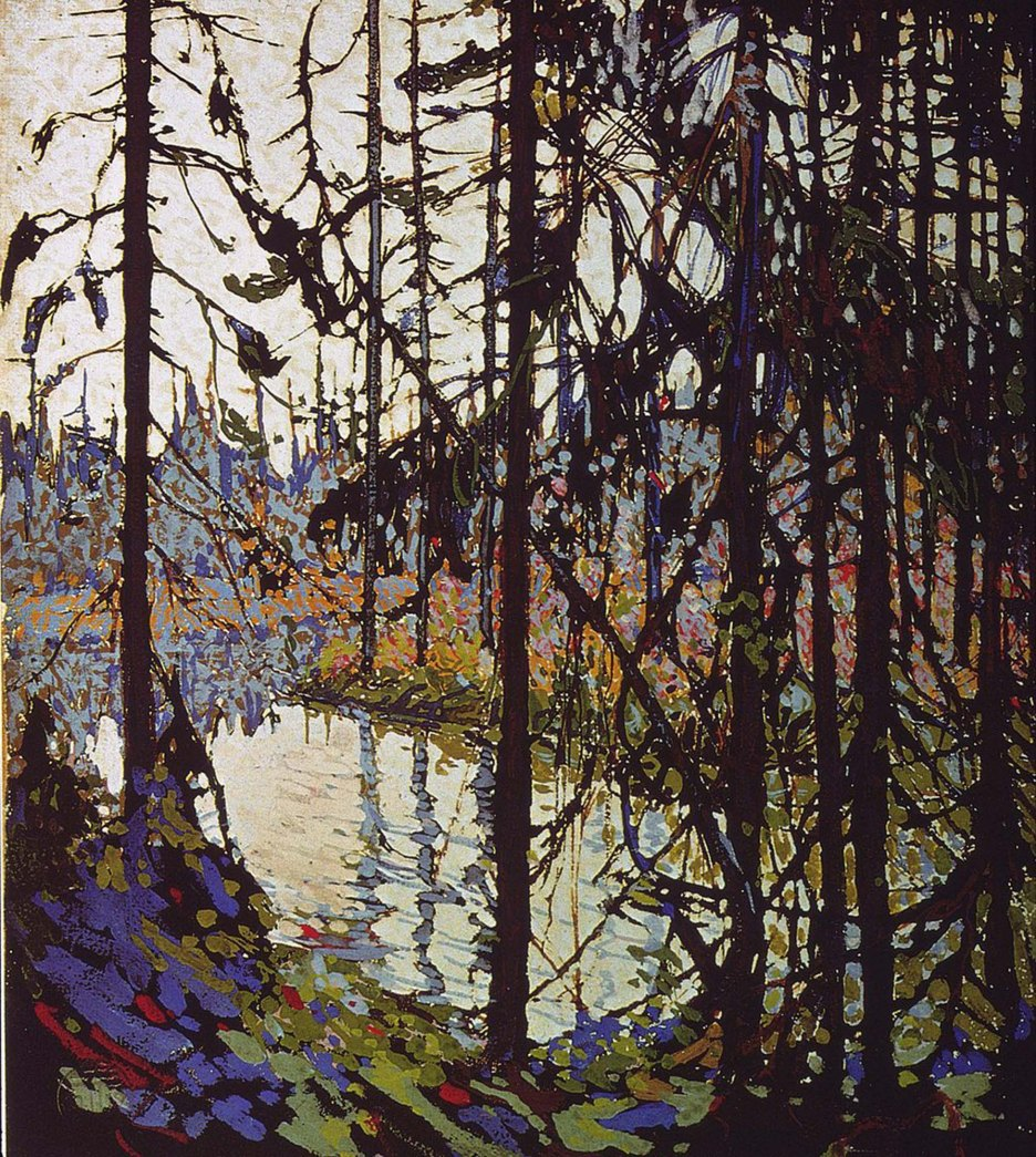 Tom Thomson, Northern River (schizzo).