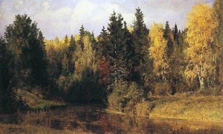 Vasilij Polenov, Autunno in Abramcevo, 1890.