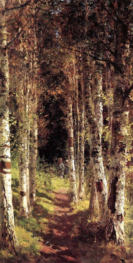 Vasily_Polenov_Birch_alley-1880