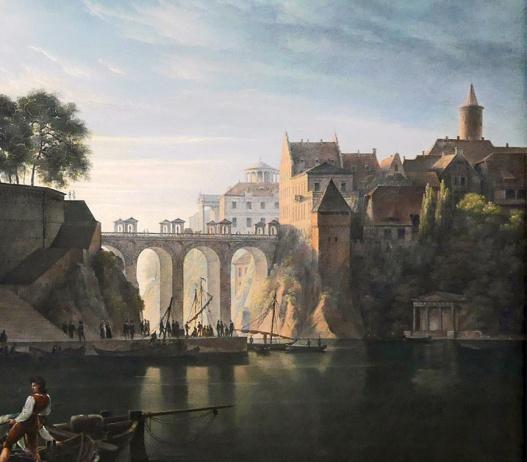 06_Karl Friedrich Schinkel, duomo gotico sull'acqua, 1813-part01