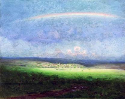 Archip Kuindzi, Dopo la pioggia, arcobaleno, ante1910