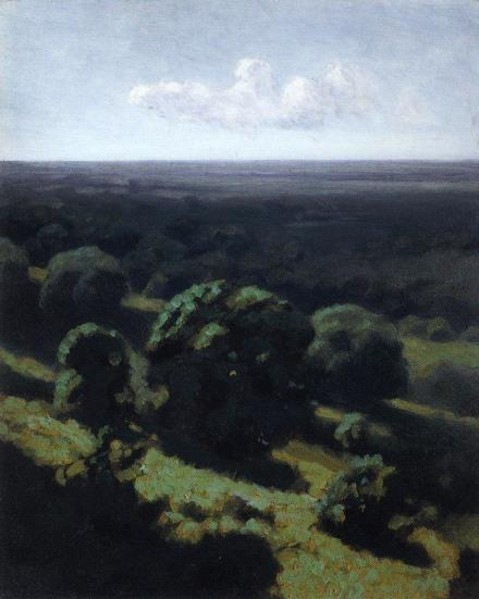 Archip Kuindzi, Foresta da lontano, 1898-1908