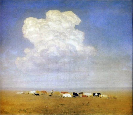 Archip Kuindzi, Mandria nella steppa, 1890-95