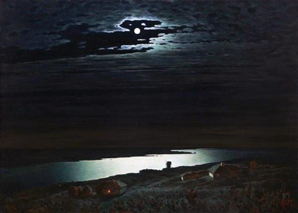 Archip Kuindzi, Notte sul Dnepr