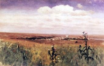 Archip Kuindzi, Steppa, 1875
