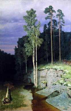 Archip Kuindzi, Sull'isola di Valaam, 1872