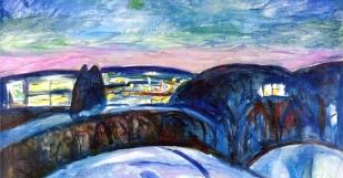 Edvard Munch, Notte stellata
