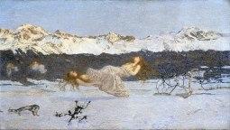 Giovanni Segantini, Il castigo delle lussuriose, 1891
