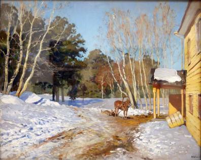 Isaak Levitan, Marzo, 1897