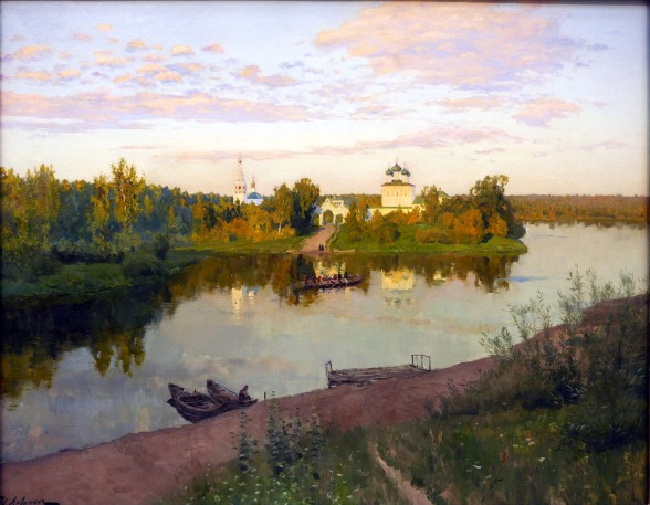 Isaak Levitan, Il suono delle campane della sera, 1892