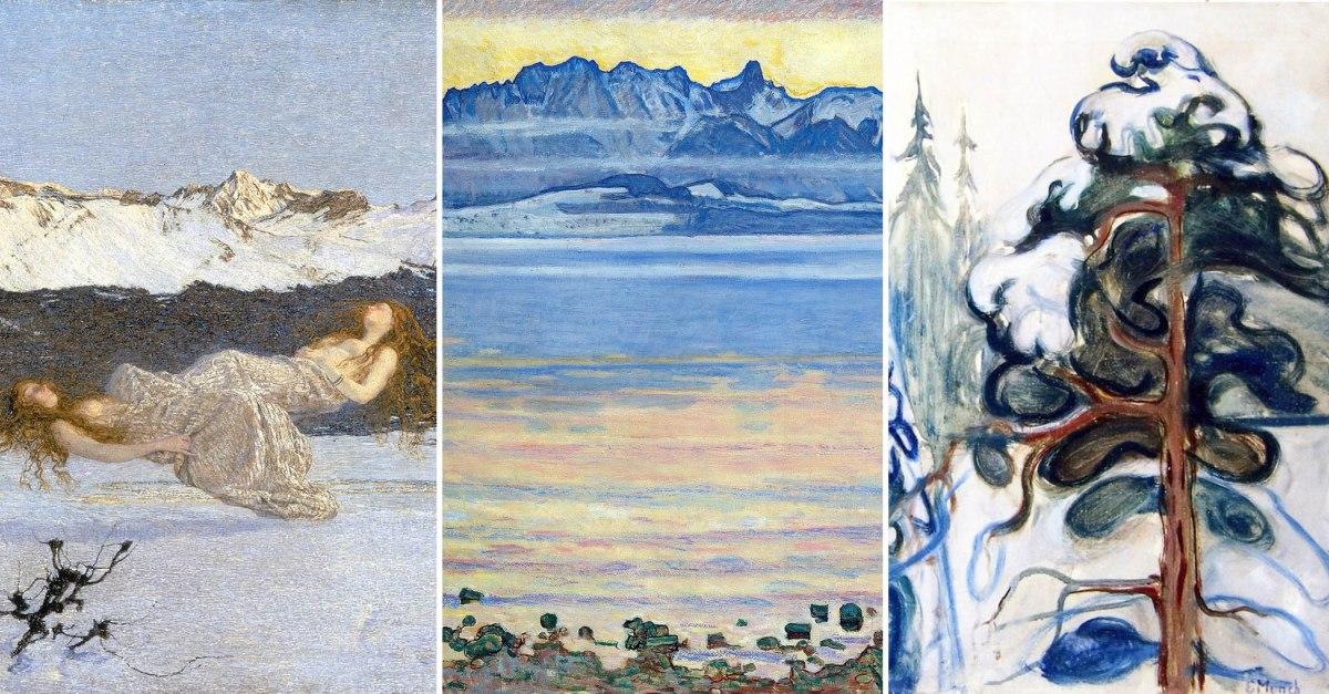 I grandi artisti e la neve 5 quadri per omaggiare la - Quadri per casa moderna ...