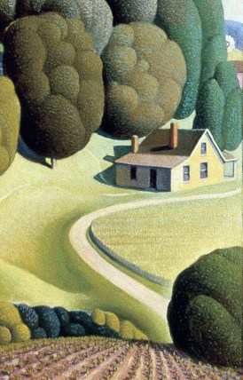 09_Grant Wood, Young corn, 1931-part2