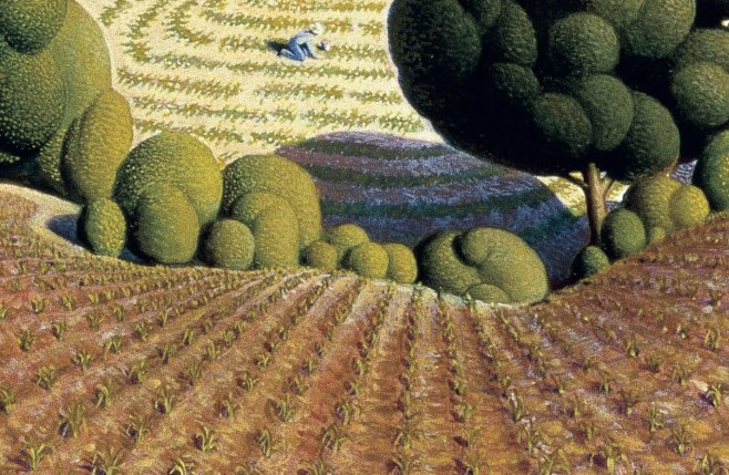 09_Grant Wood, Young corn, 1931-part3