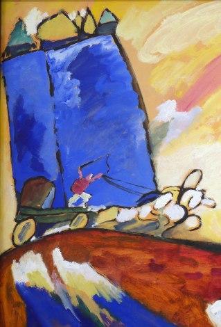 10_Vassily Kandinsky, Dipinto con troika, 1911-part1