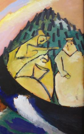 10_Vassily Kandinsky, Dipinto con troika, 1911-part2