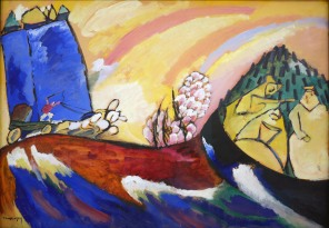 Vassily Kandinsky, Dipinto con troika, 1911