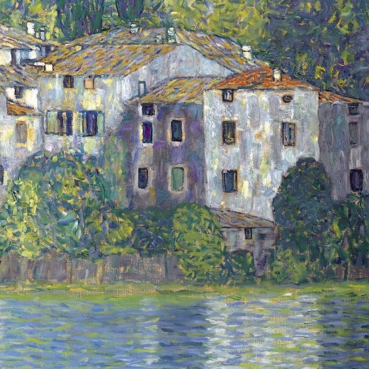 12_Gustav Klimt, la chiesa di cassone, 1913, part1