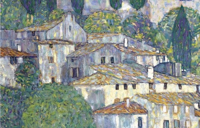 12_Gustav Klimt, la chiesa di cassone, 1913, part2