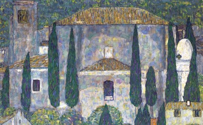 12_Gustav Klimt, la chiesa di cassone, 1913, part3