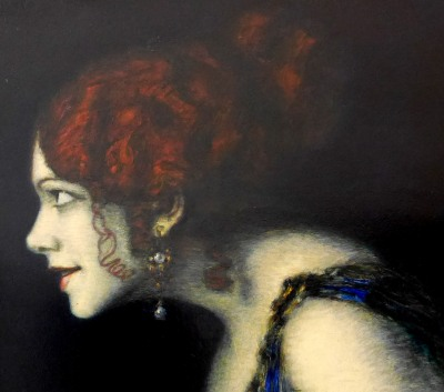 13_Franz Von Stuck, Tilla Durieux come Circe, 1913, part2