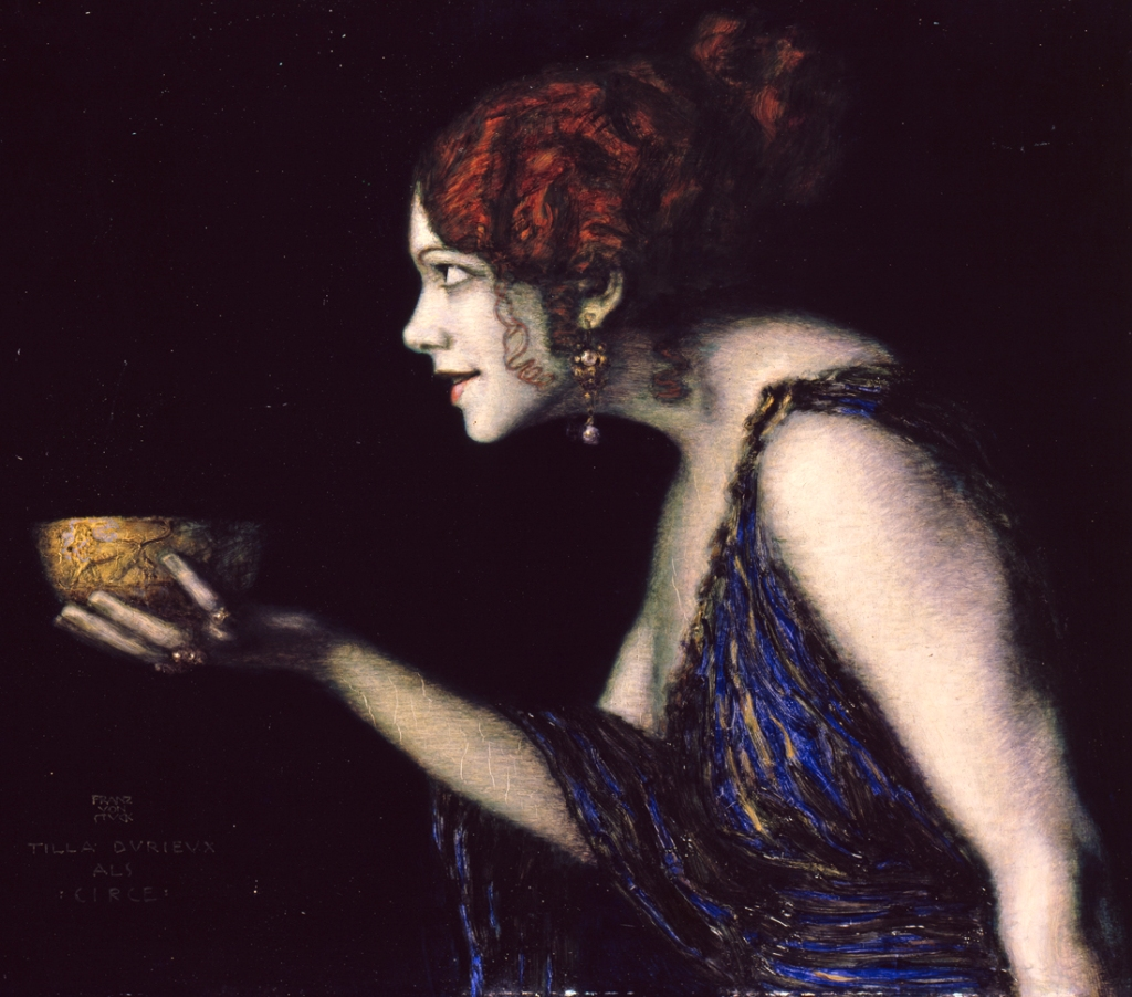 Franz Von Stuck, Tilla Durieux come Circe, 1913