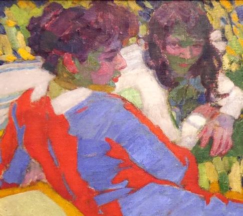 15_František Kupka, Ritratto di famiglia, 1910, part1