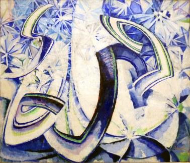 František Kupka, variazioni sul soffiare del blu, 1913-22