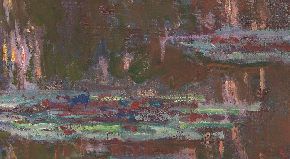 17_Claude Monet, Ninfee al tramonto, 1903, part3