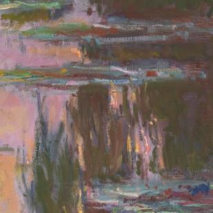 17_Claude Monet, Ninfee al tramonto, 1903, part4