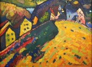 Vassily Kandinsky, Case a Murnau, 1909