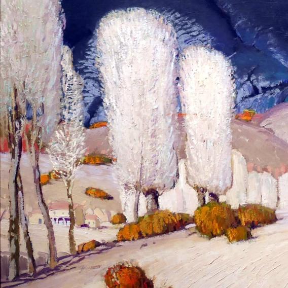 Victor Higgins, Piogge primaverili, 1924