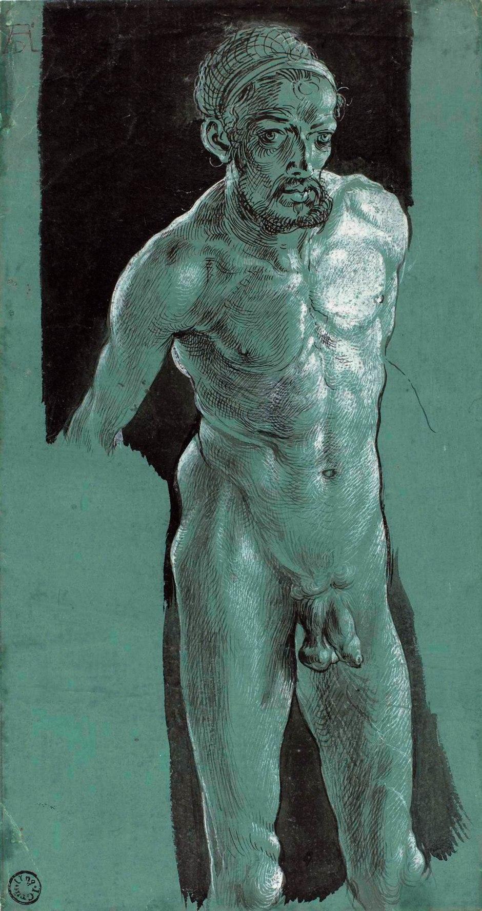 Albrecht Dürer, Autoritratto da nudo, 1509