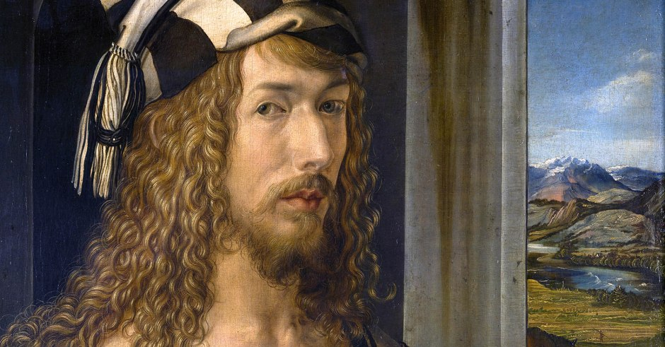 Albrecht_Dürer, autoritratto a 26 anni FB