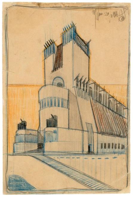 Antonio Sant'Elia, Edificio monumentale, edificio di culto