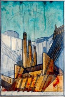 Antonio Sant'Elia, La centrale elettrica, 1914