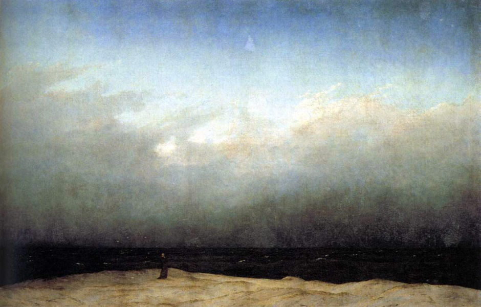 caspar david friedrich-Monk_by_the_Sea