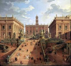 Giovanni Paolo Panini, Veduta della Piazza del campidoglio