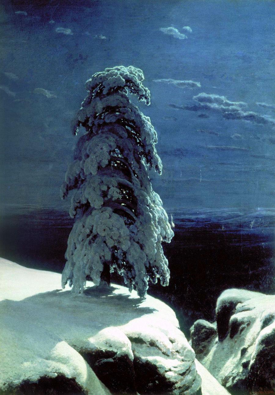 Ivan Shishkin, Nel selvaggio nord
