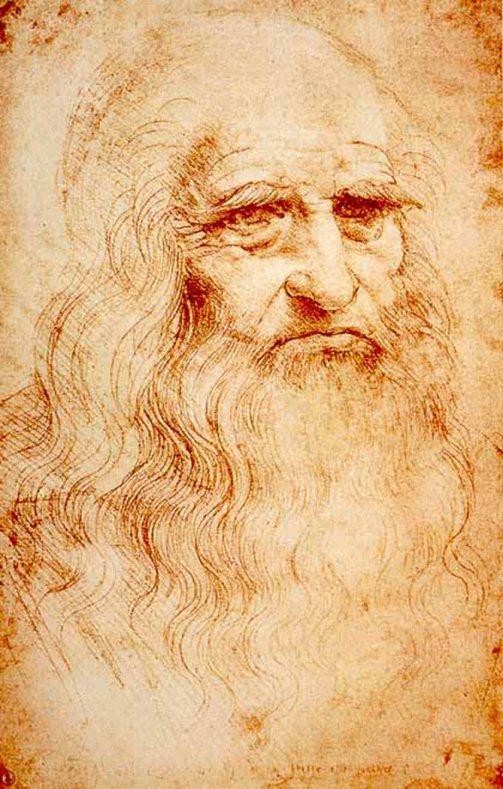 Leonardo da Vinci, Autoritratto, 1515