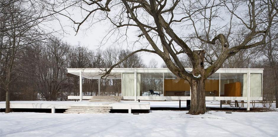 Ludwig-Mies-Van-der-Rohe, Casa Farnsworth